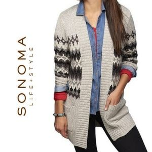 Sonoma Long Cardigan with Pockets
